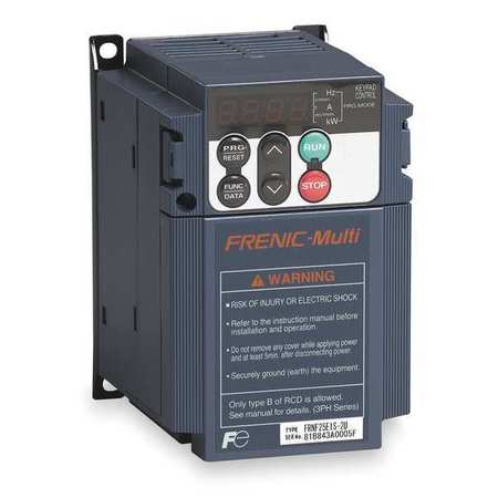Variable Frequency Drive, 1/2 HP, 200-230V
