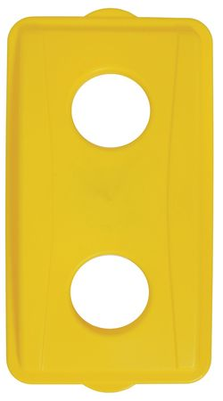 Recycling Top, Poly, Yellow