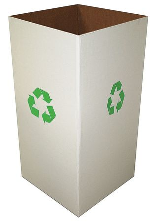 "Recycle Collection Box, 15""H, PK10"