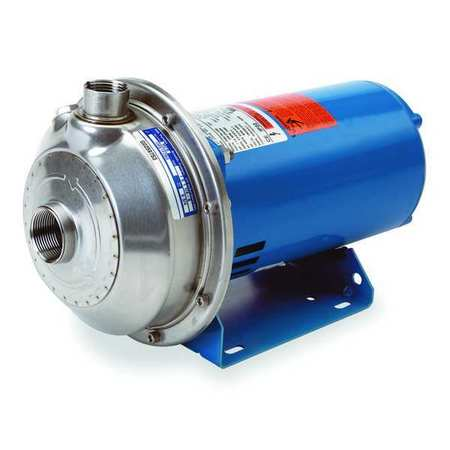 Stainless Steel 1 HP Centrifugal Pump 208-230/460V