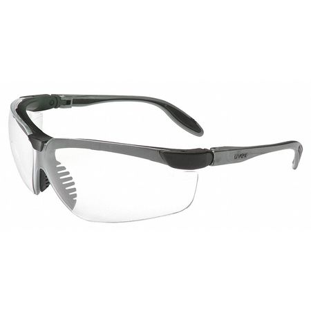 Honeywell Clear Safety Glasses,  Scratch-Resistant,  Wraparound