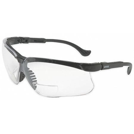 Reading Glasses, +2.5, Clear, Polycarbonate