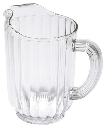 Beverage Pitcher,  48 oz. Polycarbonate Clear