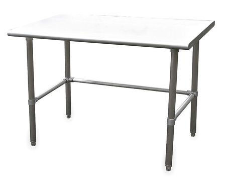 "Fixed Work Table, SS, 72"" W, 30"" D"