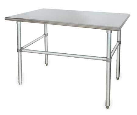 """Fixed Work Table, SS, 60"""" W, 30"""" D"""