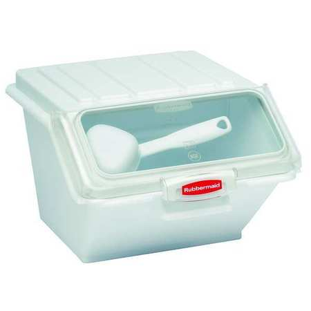 Storage Bin,  Includes 1/2 Cup Scoop
