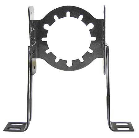 Adj Motor Mounting Bracket, Steel, 2 Studs