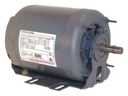 Motor, Split Ph, 1/4 HP, 1140, 115V, 56, Open