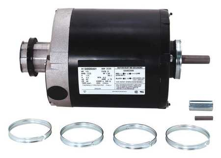 Motor, Split Ph, 1/3 HP, 1725, 115V, 48, ODP