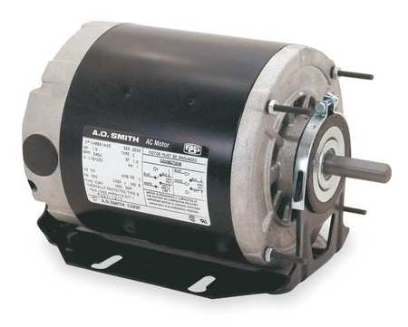 Motor, Split Ph, 1/6 HP, 1140, 115V, 48Z, ODP