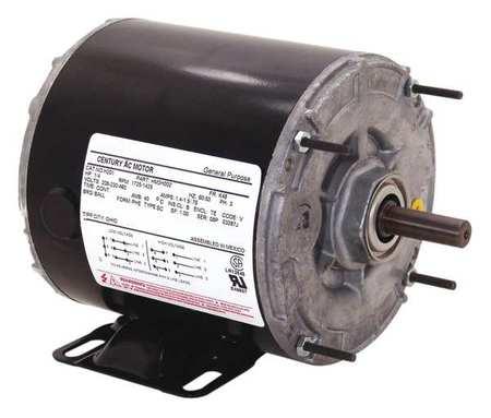 Motor, Split Ph, 1/4 HP, 1725, 115V, 48Z, Open