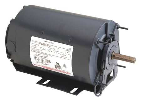 Motor, Split Ph, 1/3 HP, 3450, 115/230V, 48Z