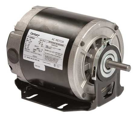 Motor, Split Ph, 1/6 HP, 1725, 115V, 48, Open