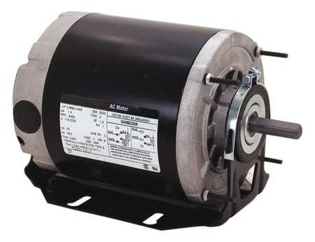 Motor, Sp Ph, 1/3 HP, 1725/1140, 115, 56Z, ODP