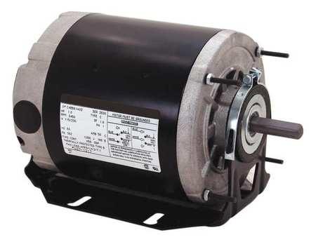 Motor, Sp Ph, 1/2 HP, 1725, 115/208-230V, 48Z