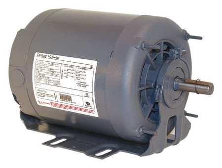 Motor, Sp Ph, 1/2 HP, 1140, 115/230V, 56, ODP