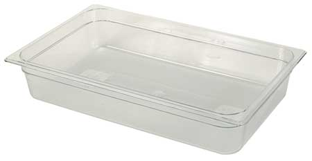 Full Size Food Pan, Cold, Clear