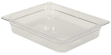 Half Size Food Pan, Cold, Clear