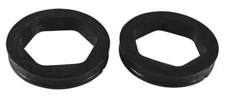 Motor Mounting Rings, 2 1/4 In OD, PK2