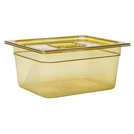 Half Size Food Pan, Hot, Amber