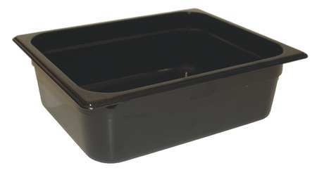 Half Size Food Pan, Hot, Black