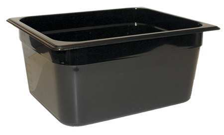 Half Size Food Pan, Hot, Black
