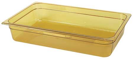 Full Size Food Pan, Hot, Amber