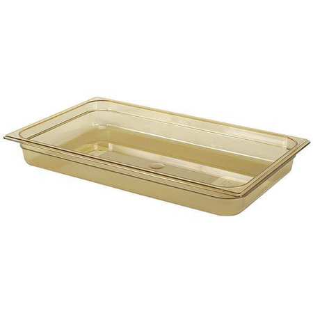 Full Size Food Pan, Hot,  Amber