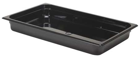 Full Size Food Pan, Hot, Black