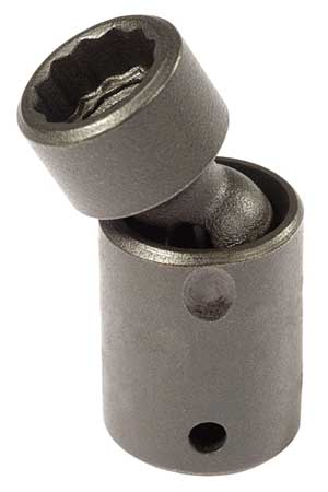 Flex Impact Socket, 1/4 In Dr, 5.5mm, 12 pt