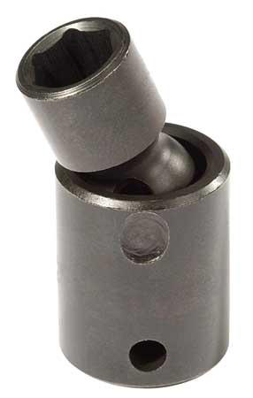 Flex Impact Socket, 3/8 In Dr, 13mm, 6 pt