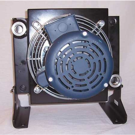 Oil Cooler, AC, 2-30 GPM, 115/230 V, 1/4 HP