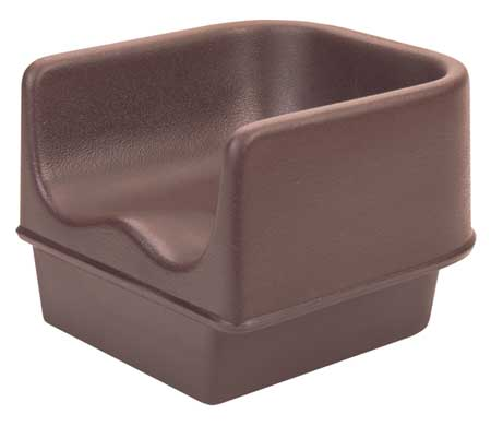 Single Booster Seat, Brown, PK4