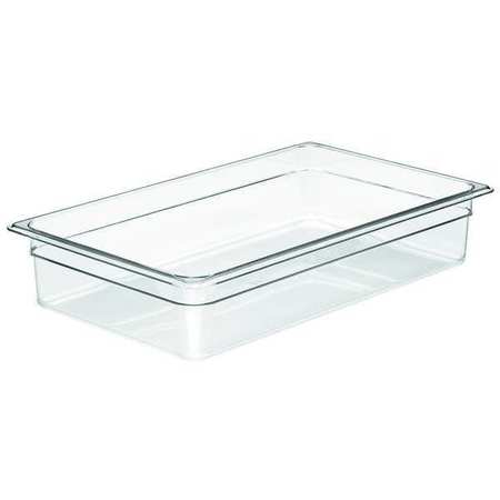 Food Pan, Full Size,  Clear, PK6