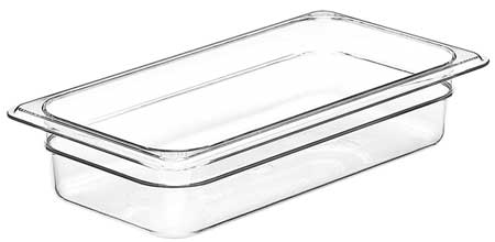 Food Pan, Third Size,  Clear, PK6