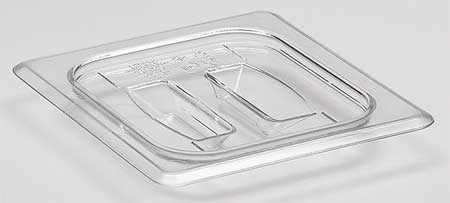 Food Pan Lid, Sixth Size, Clear, PK6