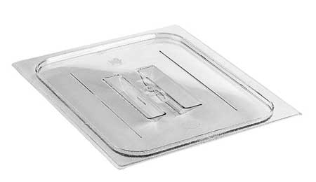 Food Pan Lid,  Half Size, Clear, PK6
