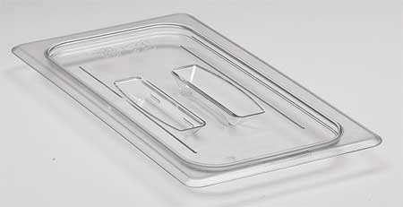 Food Pan Lid, Third Size, Clear, PK6