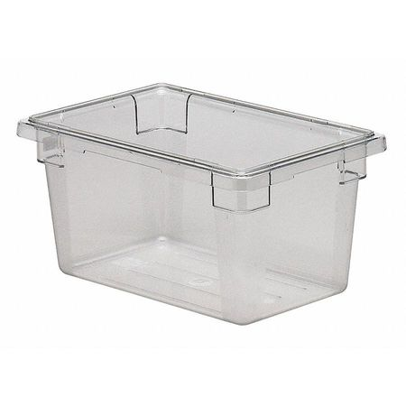 Food Box, Use Lid 4UKD3, H 9 In, PK6