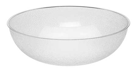 Round Pebbled Bowl,  20-1/4 qt.,  Polycarbonate Pebbled PK4