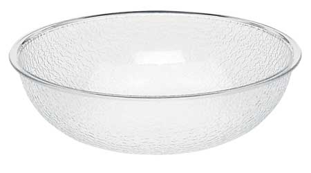 Round Pebbled Bowl,  3-1/4 qt.,  Polycarbonate Pebbled PK12