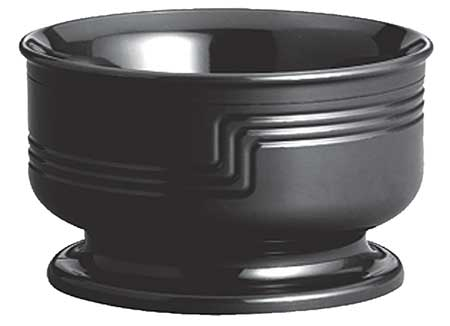 Heat Retention Large Bowl,  9 oz.,  Black PK48