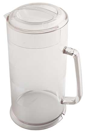 Pitcher,  64 oz.,  Polycarbonate Clear includes Lid PK6