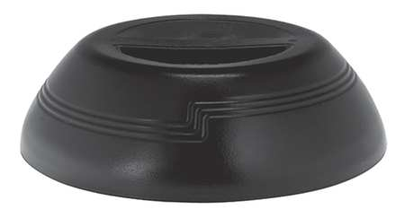 Insulated Dome,  Black, PK12
