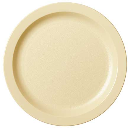 "Plate,  7-1/2"",  Polycarbonate Beige PK48"