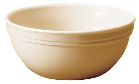 Nappie Bowl,  15-1/4 oz.,  Polycarbonate Beige PK48