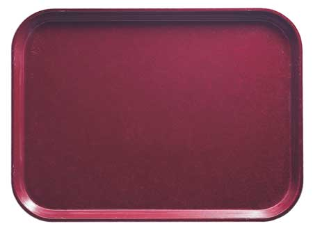 Tray, Rectang., Burgundy, 15x20, PK12