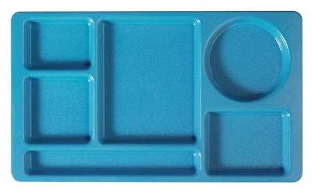 Compartment Tray, Blue, PK24