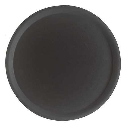 Tray, Round, 14x15, Black, PK12