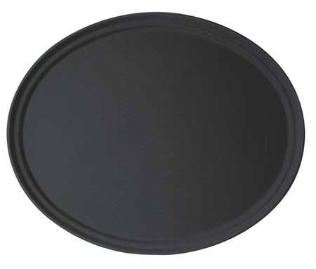 Tray, Oval,  22x 26 7/8, Black, PK6